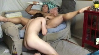 Gorgeous BBW MILF Gets Stuffed With Food/Objects & Daddy's Huge Cock.