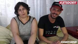 LETSDOEIT – Hard Anal Sex For Mature Italian Amateur Wife