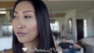PUREMATURE Asian MILF Step Mom TASTES Big Dick