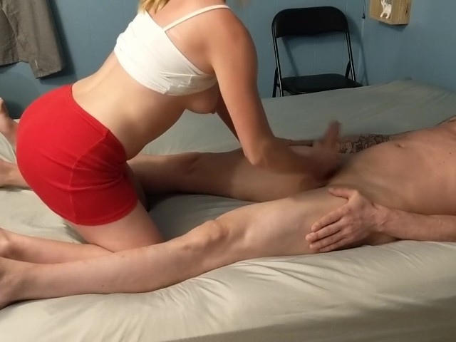 Happy Ending Big Tits Hand Job