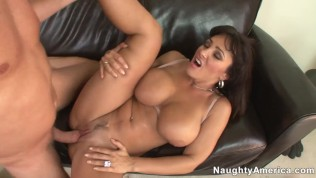 naughty america – family friend lisa ann hard fucking in the couch