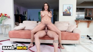 BANGBROS - Sexy, Curvy Latina Gets Her Nice Pussy Pounded By Derrick Pierce