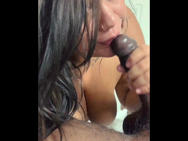 Pov Latina Blowjob Facial