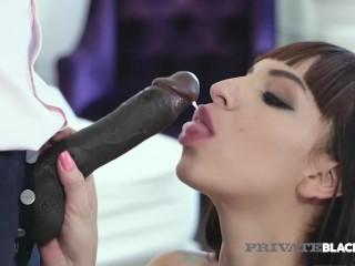 PrivateBlack – South American Matilde Ramos Rims & Rams A Big Black Cock!
