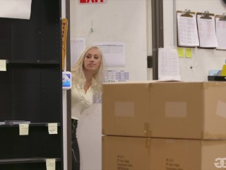 GirlGirl.com - Getting Caught At The Office