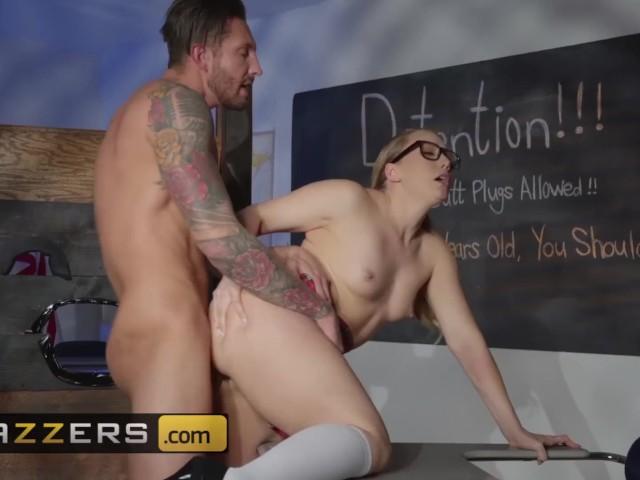 Brazzers - Uniformed Schoolgirl Aj Applegate Gets Her Thicc Ass Fucked