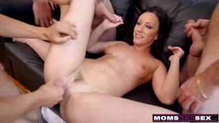 momsteachsex - horny step mom shows my football team how to fuck s11:e3