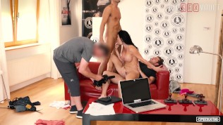 VIPSEXVAULT - Rough Threesome At...