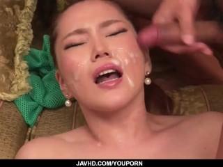Erotic JAV fetish xxx video with sensual Aya Mikami