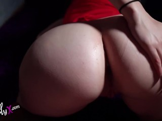 old woman Tremendous Anus Cock licking and Doggystyle POV
