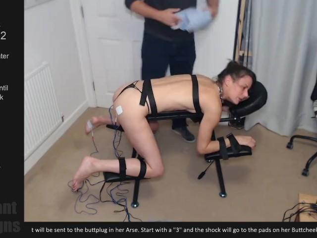 Lesbian Bondage Fuck Machine