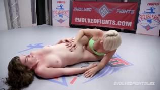 Lesbian wrestling sex Helena...