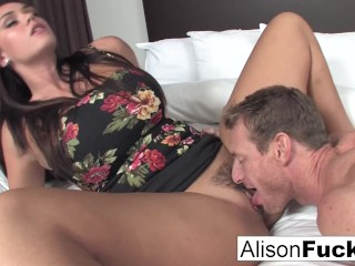 Alison Hires A Friend For A Good Fuck