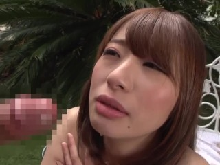 JAV cheater lover Saki Hatsumi brazen out of doors intercourse with Subtitles
