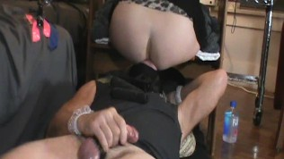 SUBMISSIVE HUSBAND-Face Sitting Ass Cleaner