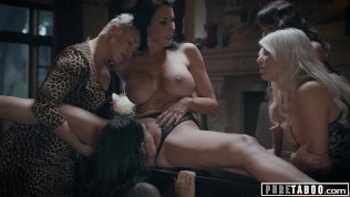 Angry Stepmom Makes Brat Teen Serve Dinner Naked-PURE TABOO