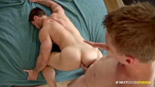 Gay Porn Tube XXX  Caught Jerking Off In Stepbrother's Bed NextDoorStudios