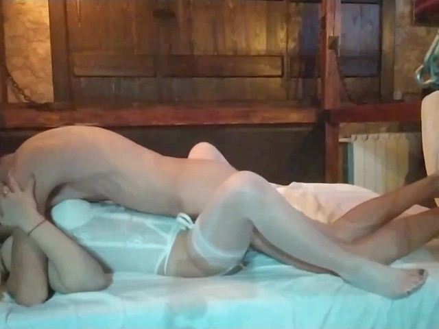 Tender Sex With A Russian Bride On Her Wedding Night Cum -8197