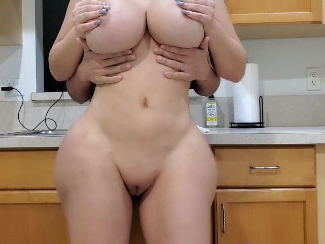Brunette Stepmom Fucks Stepson