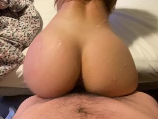 Student Bitch Desires Her Anal Lined With Cum – Teen amateur Couple NoFaceGirl