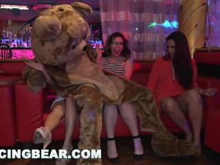 DANCINGBEAR – Male Strippers Slinging Wood At CFNM Party