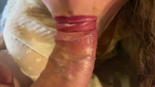 we had an orgasm at the same time, he flooded my pussy