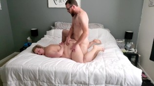Big booty wife likes it rough