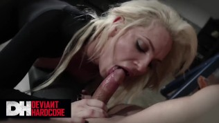 Deviant Hardcore – Busty blonde Dahlia Sky Gets dominated and face fucked
