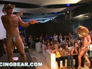 DANCINGBEAR – Fun Birthday Party Gangbang With Tremendous Willy Slingin' Male Strippers