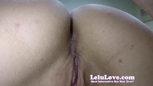 SUPER closeups asshole & pussy your own face pov facesitting