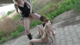 Sexy Lady Aurora And Slavegirl Suzi