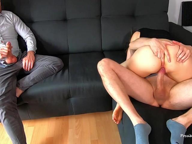 Husband Watches Wife Couple