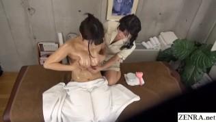 หนังโป๊ญี่ปุ่นเต็มเรื่อง XXX  Sensual Massage In Japan For Hot Busty First Time Client