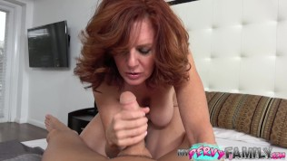 Hot Mature Mom Wants To Have Hard Dick Son Fill Her Pussy With Big Cock