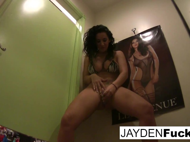 Jayden Jaymes's Dressing Room Solo!