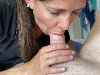 Mommy nearly earns stuck sucking my shaft by way of her old mom proper as I cum POV. Nonetheless swallows it
