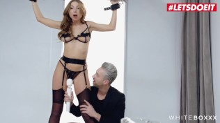 White Boxxx – Marilyn Crystal Hot Ukrainian Babe Tied Up And Fucked In Kinky BDSM Session