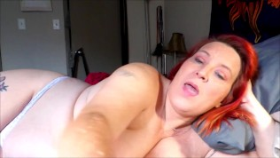 Waking Mom Up with a Hard Cock Mom will help you Cum