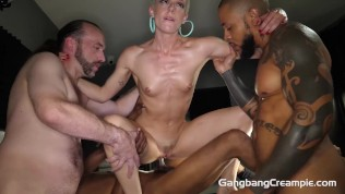 Skinny Dancer's 1st Group Quickie She Needed A Blow Job