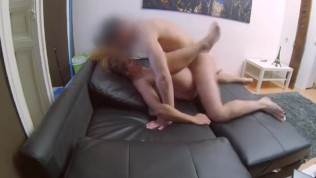 Bored housewife films herself with a friend of her son's