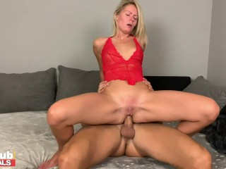 FAKEhub Homeamde Pussy filling Ass Sextape with Claudia Macc and her BF