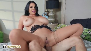 LIL Humpers – Big Tit MILF Missy Martinez Swallows Tiny Man's Dick While Her Husband Is At Home