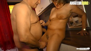 HausfrauFicken – Big Ass German Mature Cheating On Husband With His Friend – AMATEUREURO