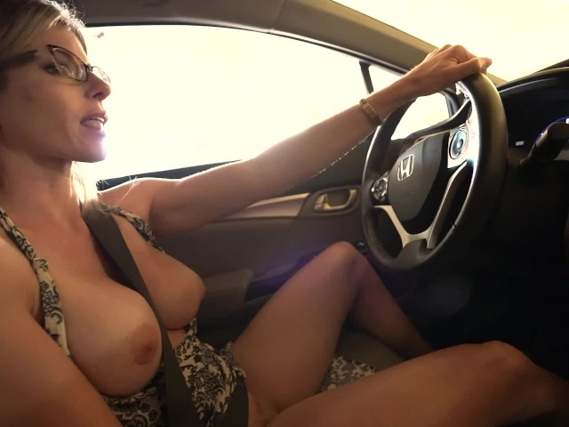 Secret Vacation With My Step Mom - Nude Car Ride and Hotel Blowjob ...