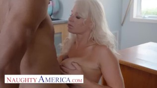 Naughty America – London River gets some dick from her student