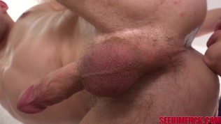 Big Dick Stud Chris Rail Gets His Ass Ate By Hottie Melody Foxx