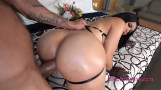 Shemale Bella Returns to take more hard cock in her ass