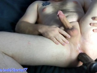 Feeling Pegged by a Roasting hot mature with a Great Ebony thot Strapon Fuck toy -Huge Cumshot- (Full Video)