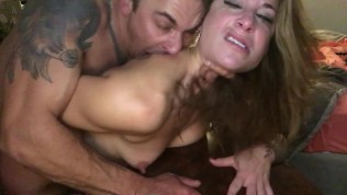 Daddy can't get enough side vw: pt3 cock biting, hard rough fuck, face in camera till we both cum