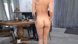 PASSION-HD Blonde Lonely Beauty Gets The Sex She Wanted